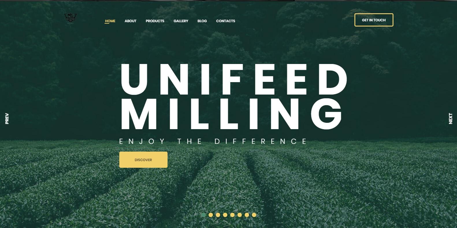 Unifeed Website